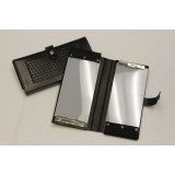 Double Cite Book Holder, Black, Plain, Nickel Snap