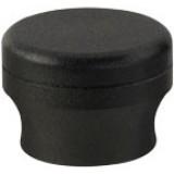 Grip Caps Textured Black