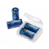 Cr123a Lithium Batteries 4 Link Case Clamshell