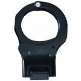 Black Aluminium Handcuffs Rigid Green European
