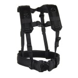 Load Bearing Suspenders/Harness 35LBS1BK
