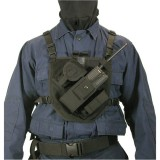 Patrol Radio Chest Harness 37PRH1BK