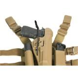 Pistol Bunji Retention Kit Black 40BR00BK