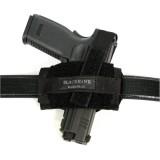 Ambidextrous Flat Belt Nylon Holster 40FB02BK