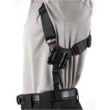 Vertical Shoulder Nylon Holster  40VH00BK-L