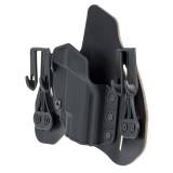 Leather Tuckable Pancake Holster Black 422001BK-L