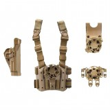 Military Serpa Holster Combo Kit for Beretta 4305USACT-L