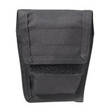 Belt Mounted Double Handcuff Pouch 50HC01BK