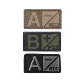 Blood Type Patch 6 Pcs Pack