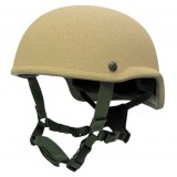 Tactical Ballistic Helmet (TBH)-II High Side Trim (HST), Ground Helmet with no NVG Holes