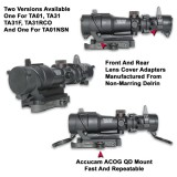 Accucam Acog Mount With Integral Lens Cover For Tabbed Housings Model Ggg-1241