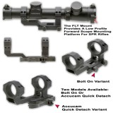 Flt Accucam Scope Mount With 30mm Integral Rings Model Ggg-1383