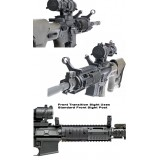 45 Degree Transition Sights Perfect Set Up For Scoped Carbines Or Rifles Model Ggg-1588