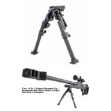 Lcb-3 Heavy Duty Tactical Bipod (Large Caliber) Model Ggg-1776