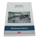 Manual, Maintenance and Repair, HK416
