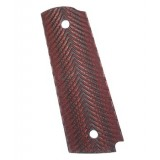 G10 Red And Black 1911 Grips Full Length Model 1100568A
