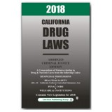 2018 California Drug Laws Abridged Model AD18