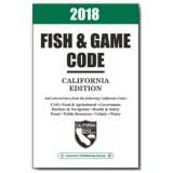 2018 California Fish And Game Code Model FG18