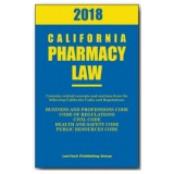 2018 California Pharmacy Law Model PH18