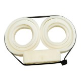 Compact Double Cuff Disposable Restraints, Each White