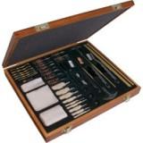 62-pc Universal Wooden Box