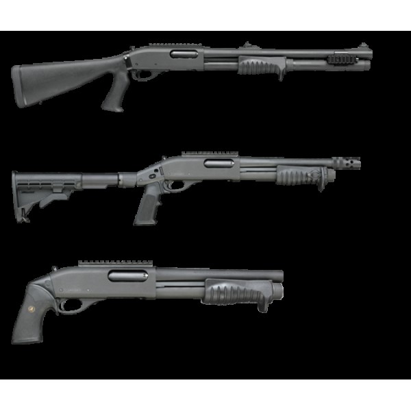 remington 870 tactical shotgun pistol grip