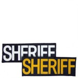 "Large ""SHERIFF"" ID Patch, 8.5"" X 3"" Model I-SHE-LG"