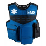 V1 EMS Carrier, Fixed Pockets, Royal Blue Model SBA-V1-EMS-PKT