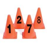 """9"""" Photo Locator Cones, 1-8"""