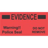 """Evidence """"POLICE SEAL"""" Labels, 100 each"""