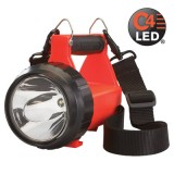 Fire Vulcan LED Light Only- with dual rear LEDs and quick release shoulder strap. (T-4A) Orange