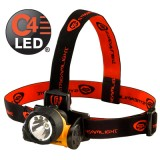 Trident Div. 2 with White LEDs, alkaline batteries. Rubber & Elastic straps. Yellow