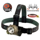 Buckmasters  Camo Trident  with (3) Green LEDs And alkaline batteries. Camo Model 61070