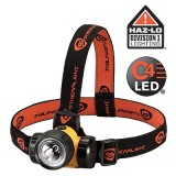 3AA HAZ-LO Headlamp with alkaline batteries Yellow