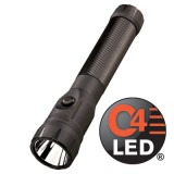 PolyStinger LED Flashlight  IEC Type A (120V) AC/12V DC Smart Charge - 2 Holders