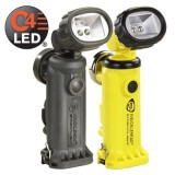 Knucklehead Div 2 Flood Rechargeable Work Light with Articulating Head Type A (120V) AC/12V DC