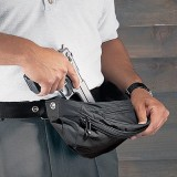 Fanny Pack Holster Gunrunner, Black Medium Model 88731