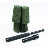 LT14A -- Expandable Baton/Flashlight Pouch - Combo