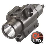 TLR-VIR Pistol visible LED/IR illuminator includes rail locating keys for Glock style