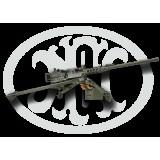 FN M2HB QCB w/ 2 Chrome Barrels