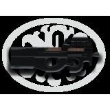 FN P90 USG Blk Sight